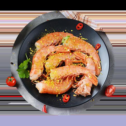 Креветки аргентинские (лангустины) 21/30 2 кг