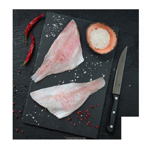 Филе окуня морского с кожей